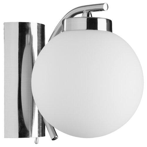 Бра Arte Lamp Cloud A8170AP-1SS, с выключателем, 40 Вт arte lamp бра arte lamp 78 a7957ap 1ss