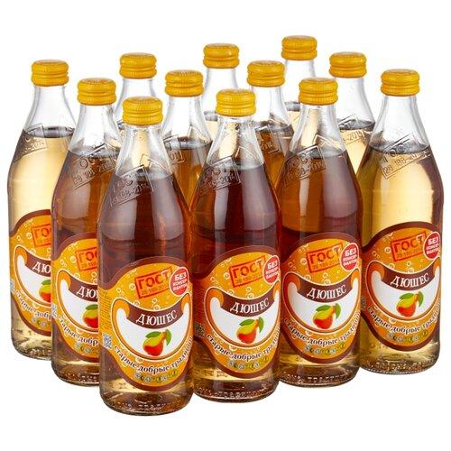 Газированный напиток Старые добрые традиции Дюшес, 0.5 л, 12 шт. ретро бум дюшес лимонад 0 5 л