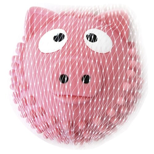 Купить Игрушка для ванной Играем вместе Мячик-свинка (LX-SB03) розовый, Игрушки для ванной