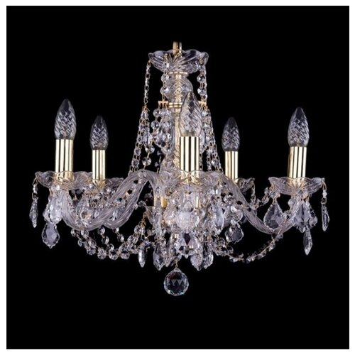 Фото - Bohemia Ivele Crystal 1406 1406/5/160/G/Balls люстра bohemia ivele crystal 1406 1406 8 141 g balls e14 320 вт