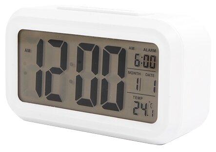 Купить Часы с термометром СИГНАЛ ELECTRONICS EC-137 белый по низкой цене с доставкой из Яндекс.Маркета