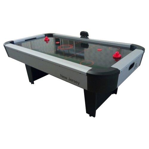 Игровой стол для аэрохоккея DFC New Jersey DS-AT-07 серый/черный