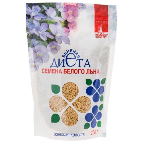 Семена льна Биокор Льняная диета Женская Красота 200 гСемечки и семена<br>