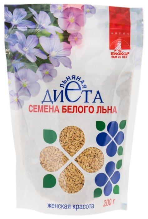 Семена льна Биокор Льняная диета Женская Красота 200 г