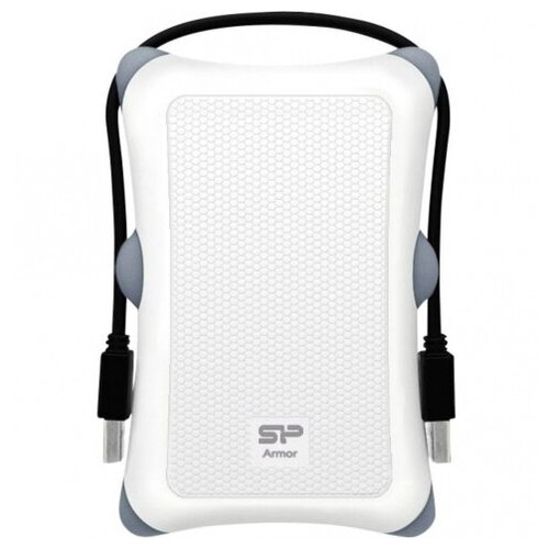 Фото - Внешний HDD Siliсon Power 2 TB A30 Armor белый, 2.5, USB 3.0 внешний hdd siliсon power 2 tb a30 armor чёрный 2 5 usb 3 0