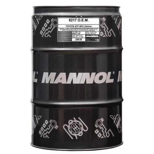Фото - Трансмиссионное масло Mannol O.E.M. 8217 ATF WS 60 л curren 8217 casual men quartz watch black