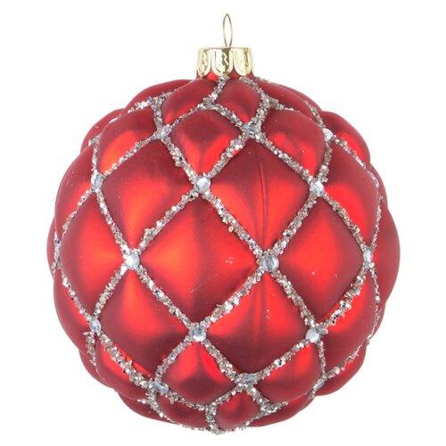 Набор шаров KARLSBACH 08433, красный/серебристый