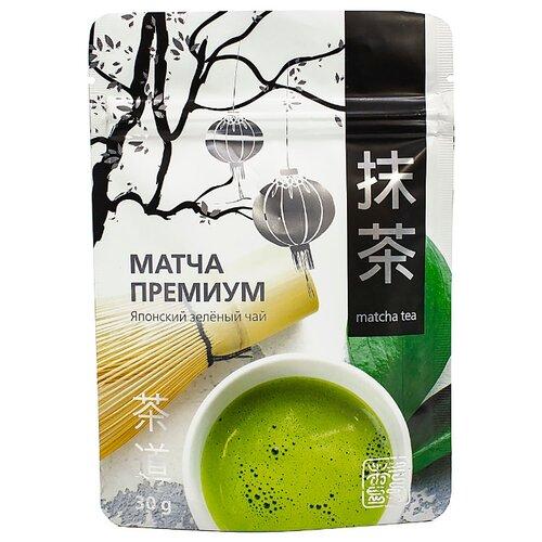 Чай зеленый 101 чай Матча премиум, 30 г чай зеленый матча латте 40 г