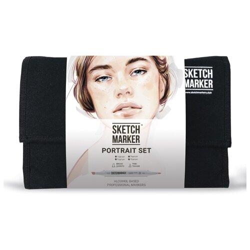 Купить SketchMarker Набор маркеров Portrait Set, 24 шт., Фломастеры и маркеры