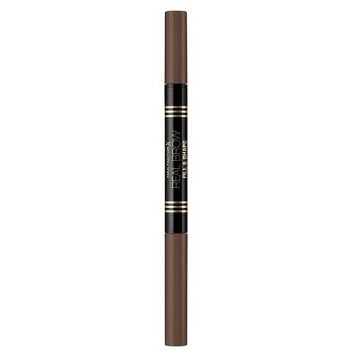 Max Factor карандаш+пудра Real Brow Fill & Shape Pencil, оттенок 002