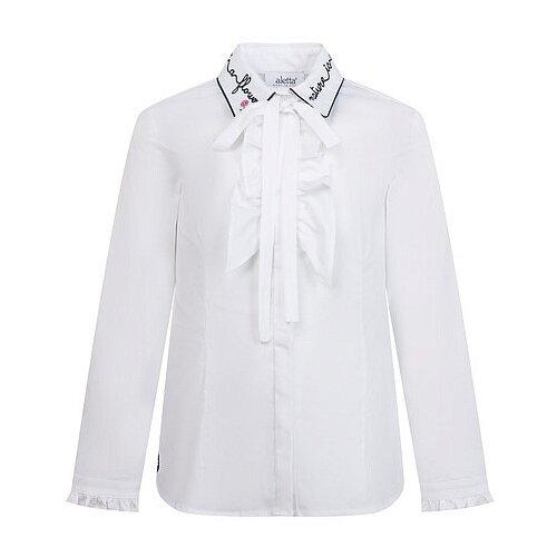 Купить Блузка Aletta размер 174, белый, Рубашки и блузы