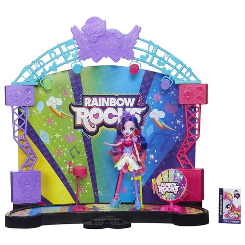 Игровой набор My Little Pony My Little Pony Equestria Girls Rainbow Rocks A8060 скатерть на стол my little pony