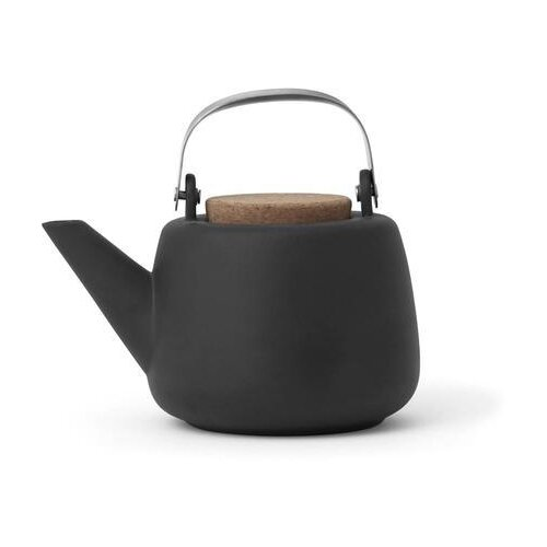 VIVA Scandinavia Заварочный чайник с ситечком Nicola V36102/V36103 1.2 л, черный