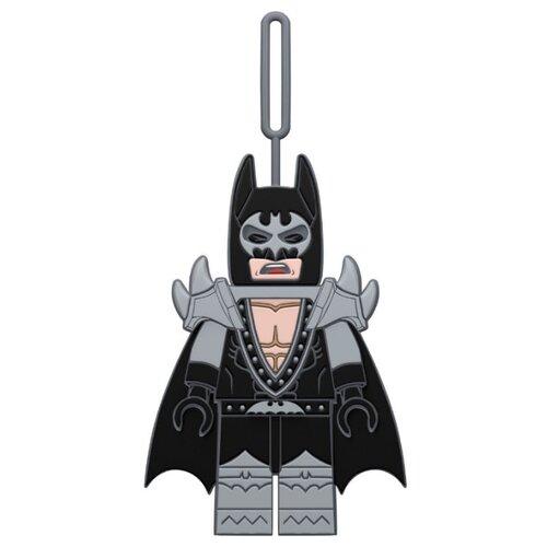 Бирка для багажа LEGO Batman Movie Glam Rocker Batman, серый/черный batman year one