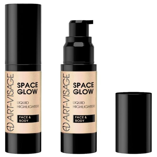 ART-VISAGE Жидкий хайлайтер Space Glow для лица и тела 21, sunset montale sunset flowers