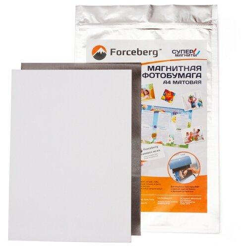 Бумага Forceberg A4 Магнитная 3 лист. белый 1 шт.