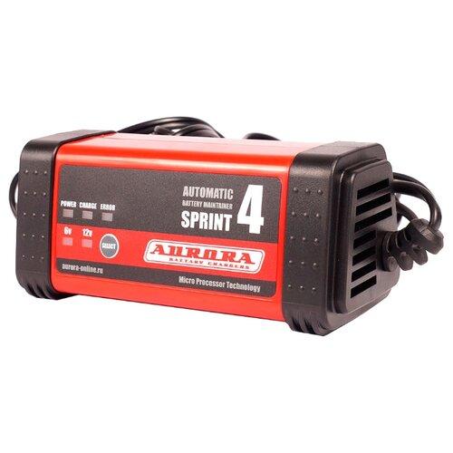 Зарядное устройство Aurora Sprint-4 черный/красный зарядное