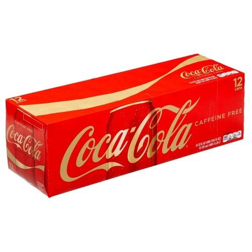 Газированный напиток Coca-Cola Caffeine Free, США, 0.355 л, 12 шт. сувенир coca cola 2015