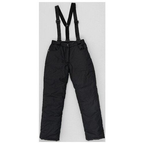 Купить Брюки Button Blue 220BBGJC6403 размер 140, черный, Полукомбинезоны и брюки