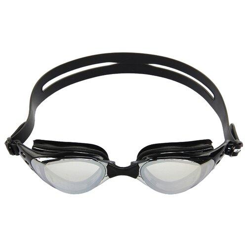 Очки для плавания Larsen R-G6811М черный цена 2017