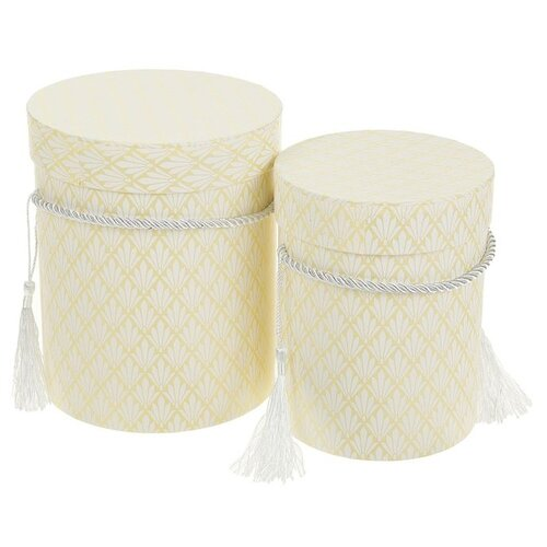 Фото - Набор подарочных коробок Yiwu Zhousima Crafts Ромбик, 2 шт желтый набор подарочных коробок tai an baoli paper product co ltd фауна 17 шт желтый