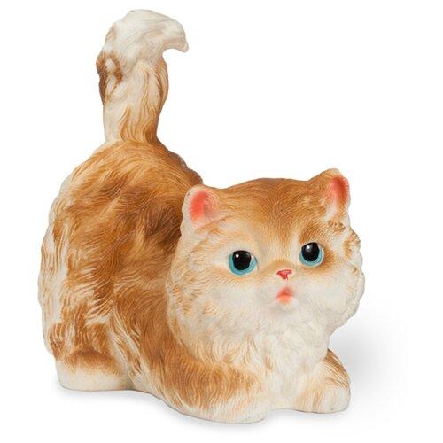 Купить Игрушка для ванной ОГОНЁК Кошечка Чилита (С-726) белый/коричневый, Игрушки для ванной