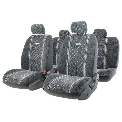 цена на Комплект чехлов AUTOPROFI GOB-1105 серый