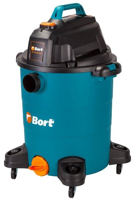 Пылесосы Bort Пылесос для сухой и влажной уборки BSS-1530-Premium {30 л; 1500 Вт; 23 кПа; Пылесос для влажной уборки ; 5,6 кг; набор аксессуаров 16 шт} 93723460