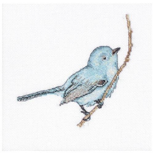 Купить Luca-S Набор для вышивания Певчая птица 11.5 х 11.5 см (B11588), Наборы для вышивания