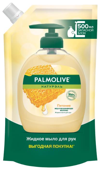 Мыло жидкое Palmolive Натурэль Питание Мед и увлажняющее молочко