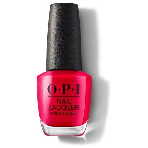 Лак OPI Nail Lacquer Classics, 15 мл, оттенок Dutch Tulips лак opi nail lacquer classics 15 мл оттенок she's a bad muffuletta