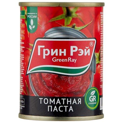 Green Ray Томатная паста 140 г кубань продукт паста томатная 70 г