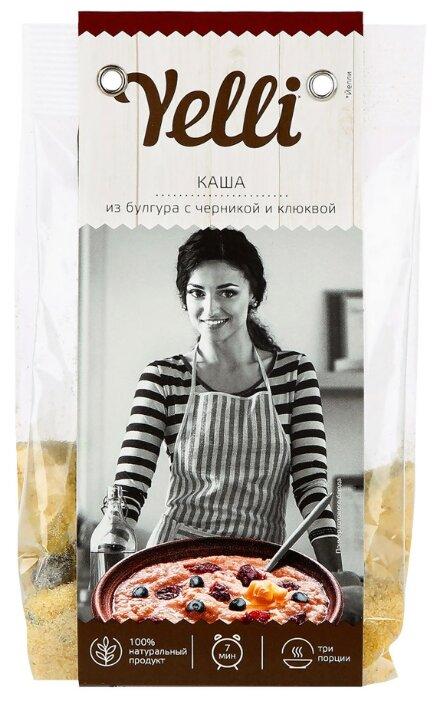 Yelli Каша из булгура с черникой и клюквой, 120г — цены на Яндекс.Маркете