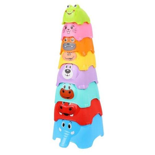 Пирамидка Наша игрушка Детская, 8 элементов недорого