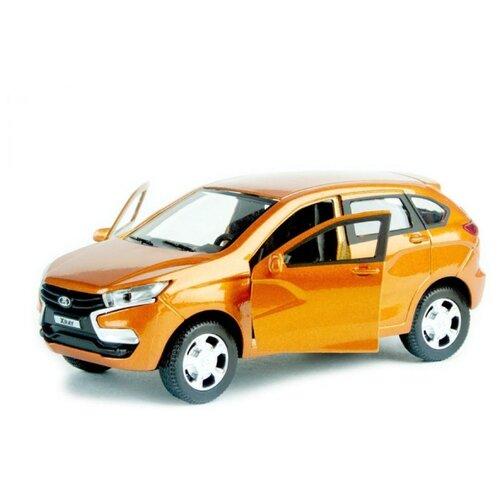 Легковой автомобиль Autogrand Lada XRay Гражданская (68266) 1:36 бронзовый фото