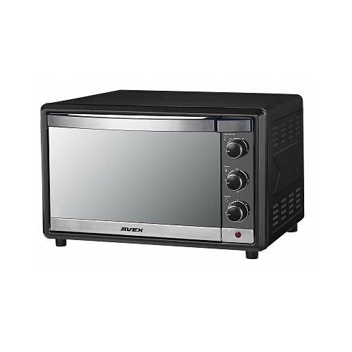 Мини-печь AVEX TR450MBCL pizza черный