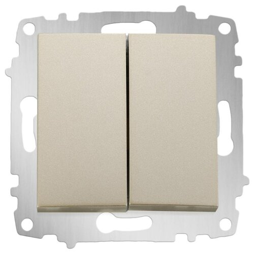 цена на Выключатель 2х1-полюсный ABB Cosmo 619-011400-202,10А, титан