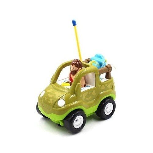 Купить Машинка Cartoon Dinosaur car (6611) 18 см, Shenzhen Jingyitian Trade, Радиоуправляемые игрушки