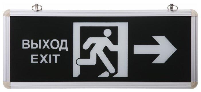 """Табло REXANT 74-0020 """"Выход EXIT в дверь вправо"""""""