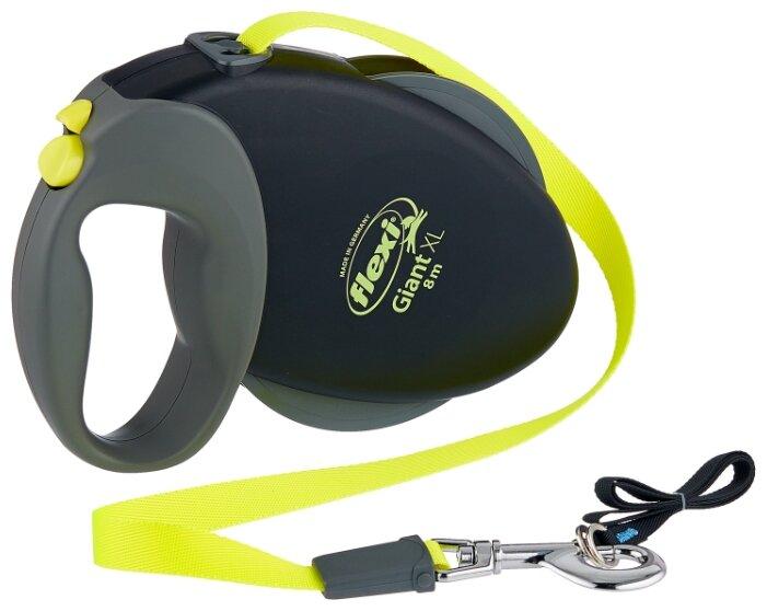 Поводок-рулетка для собак Flexi Giant XL ленточный