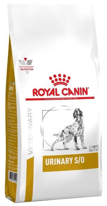 Корм для собак Royal Canin Urinary S/O LP18 при мочекаменной болезни 14 кг
