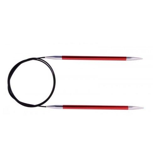 Купить Спицы Knit Pro Zing 47183, диаметр 2.5 мм, длина 120 см, гранатовый