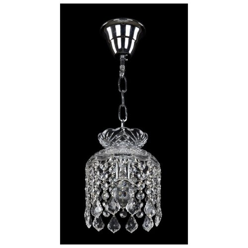 Люстра Bohemia Ivele Crystal 14781/15 Ni Leafs, E14, 40 Вт потолочная люстра 2001 40 60 3500 ni