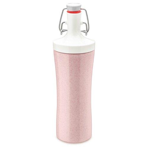 Фото - Бутылка для воды PLOPP TO GO Organic 425 мл розовая бутылка для воды koziol plopp to go organic 0 42 пластик синий