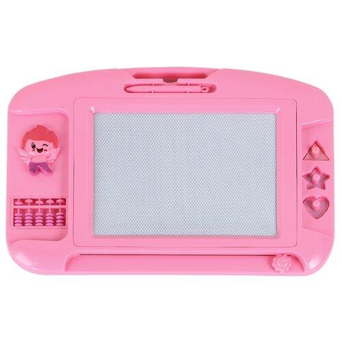 Купить Доска для рисования детская Джамбо Тойз JB1000141 розовый, Доски и мольберты