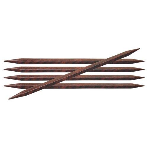Купить Спицы Knit Pro Cubics 25104, диаметр 3.5 мм, длина 15 см, коричневый