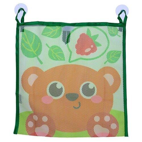 Фото - Сетка Крошка Я Мишка зеленый/коричневый комплект посуды крошка я зайка 3275231 зеленый