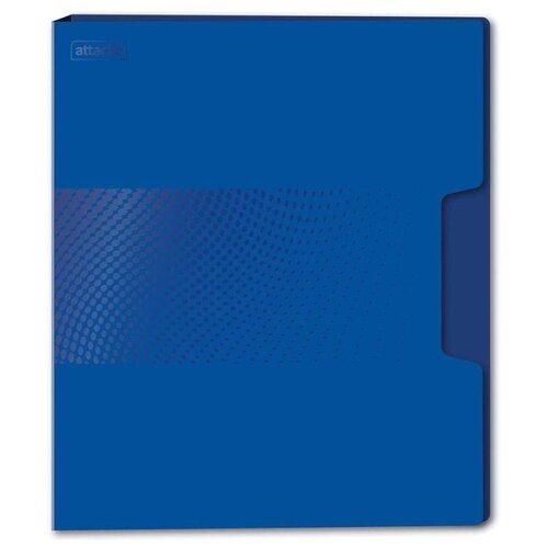 Attache Папка-скоросшиватель с пружинным механизмом Digital А4+, пластик синий attache папка скоросшиватель fluid а4 пластик фиолетовый