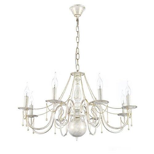Люстра Arti Lampadari Camerino E 1.1.8 WG, E14, 320 Вт люстра arti lampadari tarsia tarsia e 1 1 8 wg