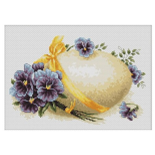 Фото - Luca-S Набор для вышивания Пасхальная открытка, 21.5 х 14 см, B103 набор для вышивания luca s b548 клёвое место